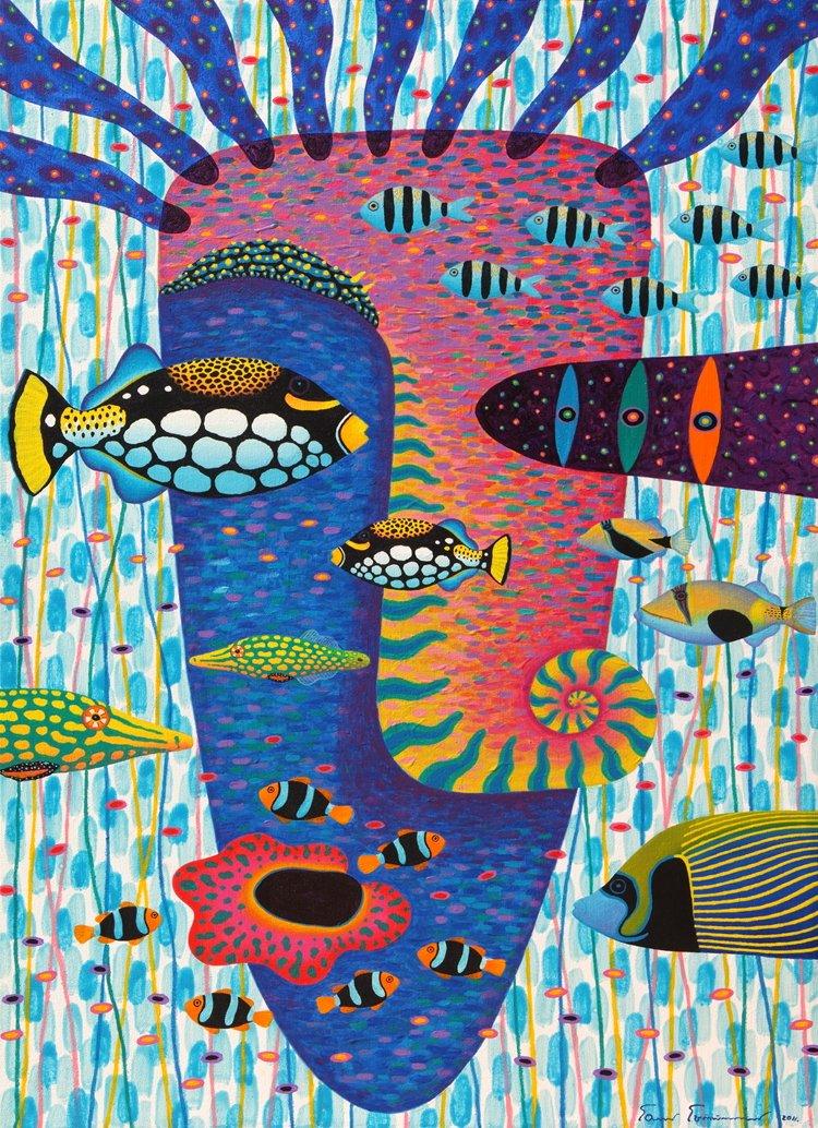 jm397居梦坞装饰画 单联手绘风格抽象画挂画帆布画客厅卧室餐厅玄关