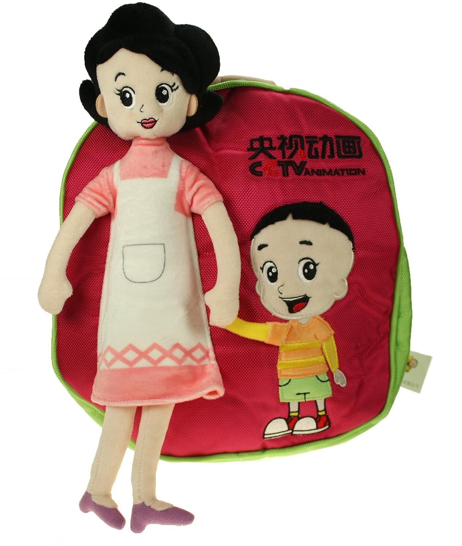 shima 西玛 新版大头儿子小头爸爸系列 立体妈妈儿子书包 背包 零食包图片