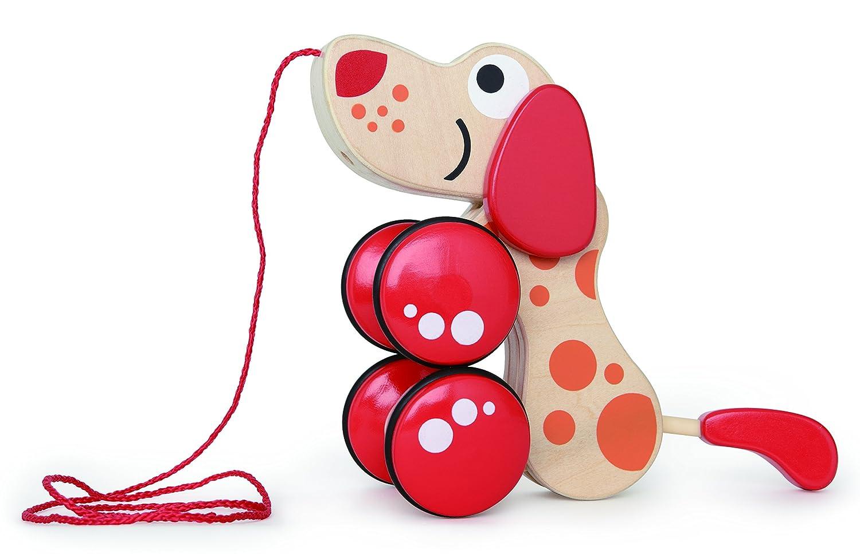 hape益智小狗玩具韩国牵线积木图片