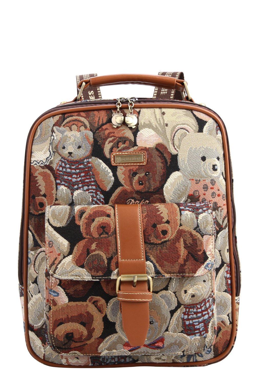 daka bear 大咖熊 女士包包 时尚休闲 背包女双肩包 dk40820 (迷彩色)图片