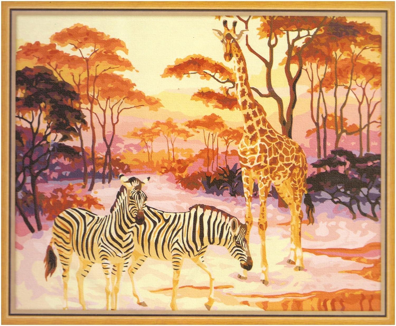 热带雨林手绘图案