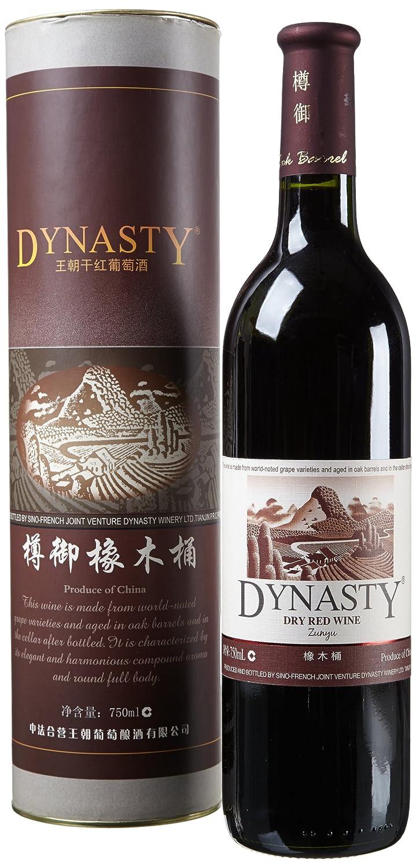王朝樽御橡木桶干红葡萄酒750ml(wine)-食品-亚马逊