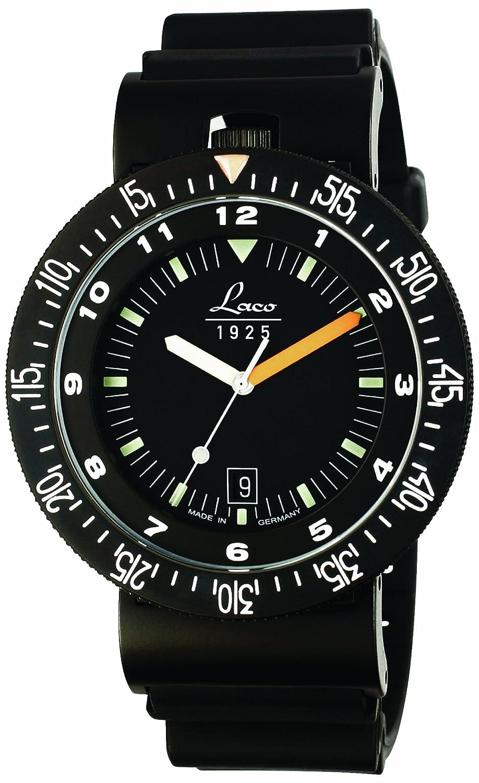 Laco朗坤 德国自动机械表 特种部队系列 潜水夜光男士手表 ¥800