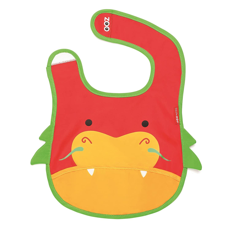 美国skip hop可爱动物园围兜(口水肩)小龙sh232111