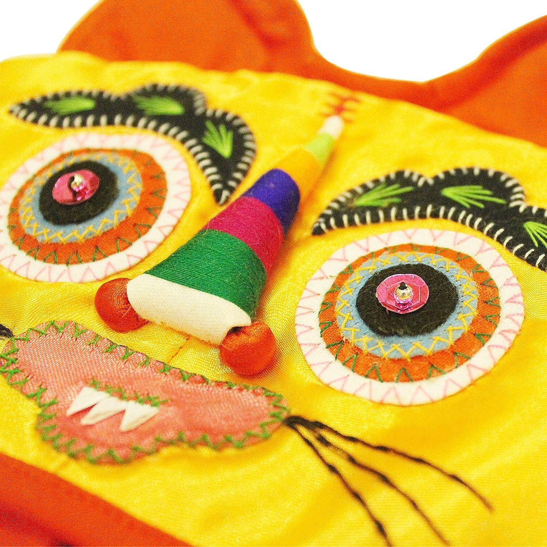 小鸡啄米 传统手工绣花虎头帽子 宝宝婴儿老虎满月百天周岁礼品