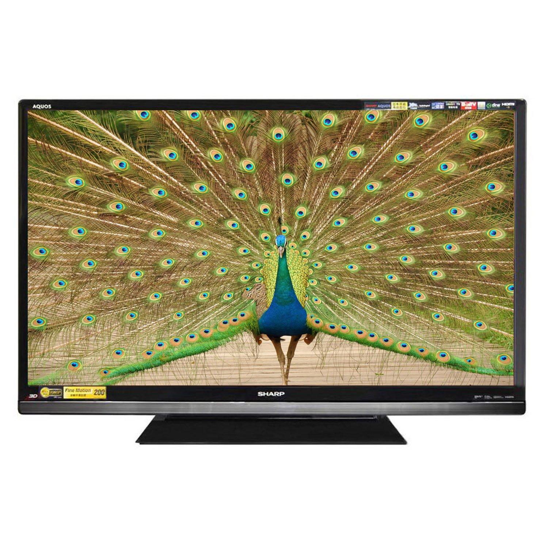 苏州福利!SHARP夏普 LCD-46LX640A 46英寸全高清智能3D LED液晶电视¥4599-400