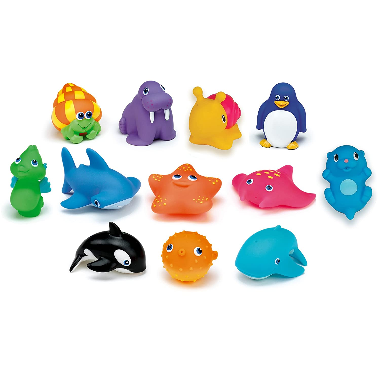 munchkin海洋小动物洗澡喷水玩具 12份