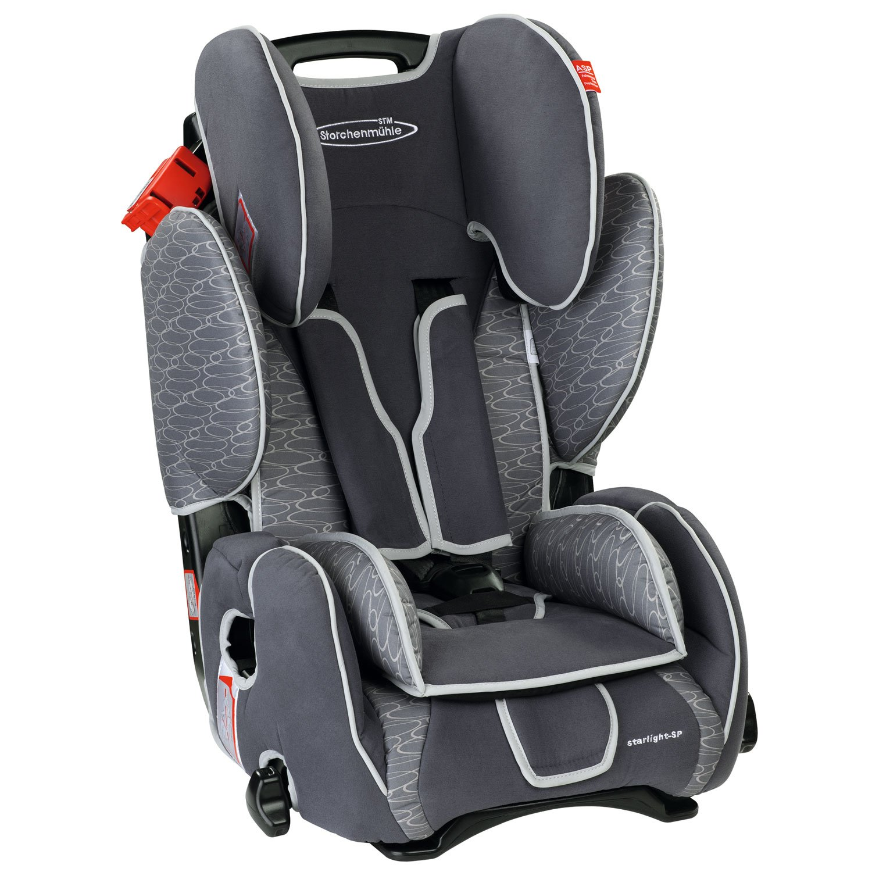 德国斯迪姆STM汽车儿童安全座椅变形金刚可配isofix 9个月-12岁(9-36kg) 烟灰色(百年世纪品牌,最新ADAC测试冠军!德国原装进口)