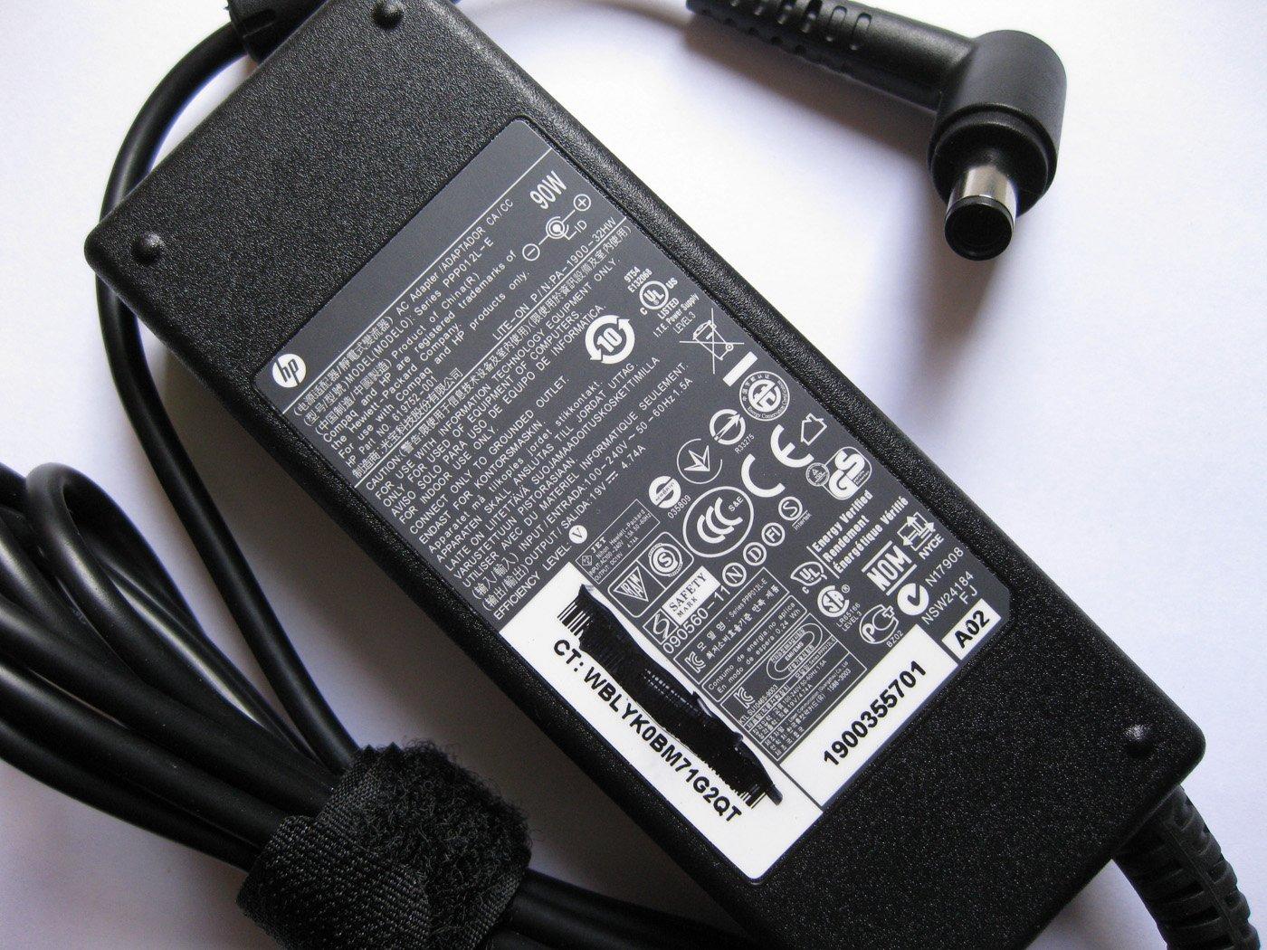 新款弯头原装惠普90w笔记本电源适配器6710b电源6710s电源6715b电源