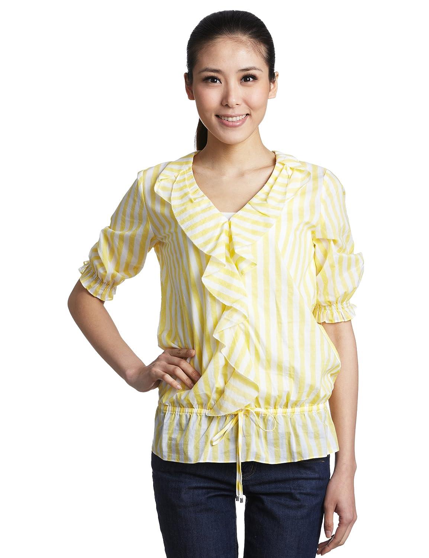 Z秒杀:(2.17折)Nautica 诺帝卡 女式 休闲衬衫 128元包邮