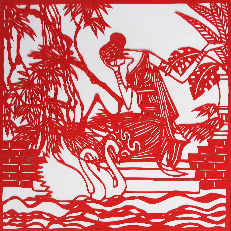 中国的剪纸艺术有多少年的历史了