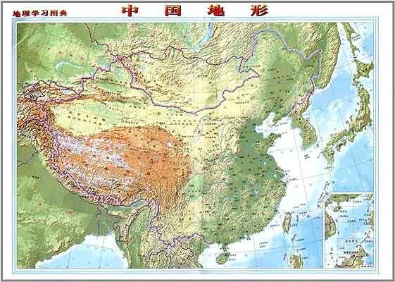 地理学习图典:中国地图(1:16000000):亚马逊:图书