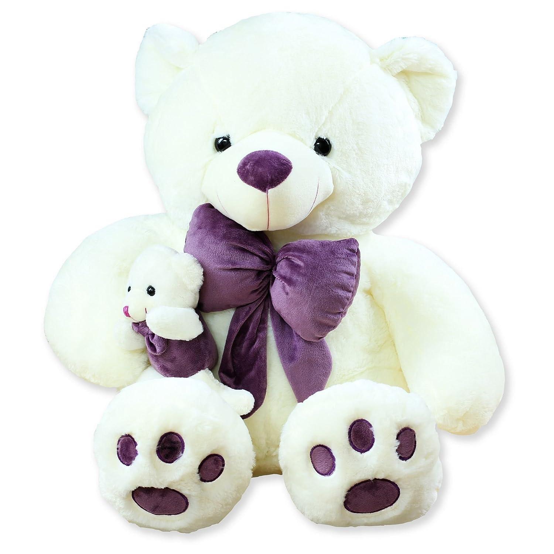 毛绒玩具可爱母子熊抱抱熊布娃娃大号公仔玩偶