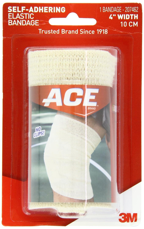 ace self-adhering elastic bandage, 4 inches