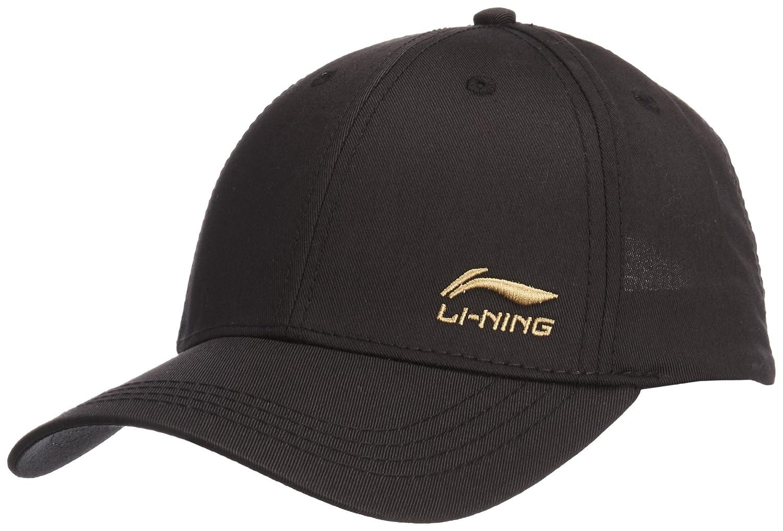 li ning 李宁 综训系列 棒球帽 中性 黑色 均码 amyg046-1