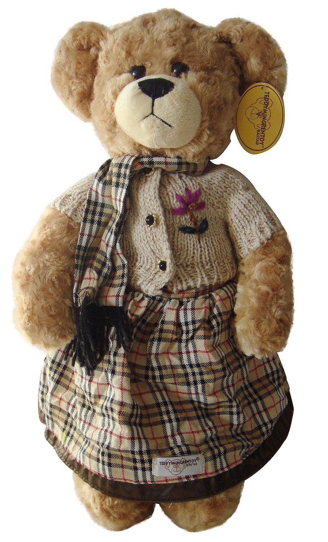 方格图片带可爱的熊