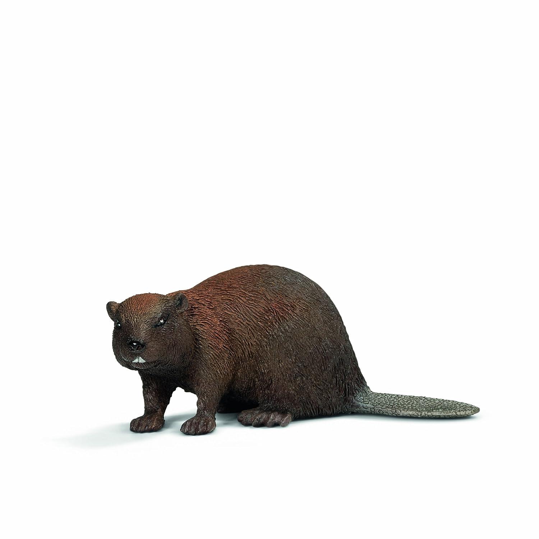 schleich 思乐 海狸 动物模型 s14693