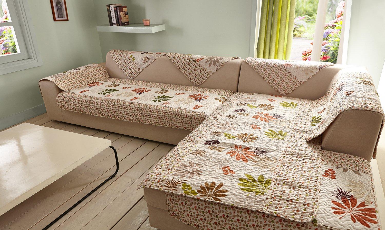 欧式钻石绒田园布艺沙发垫