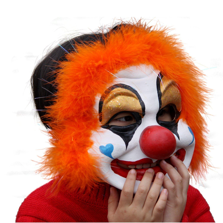 彩色小丑头像
