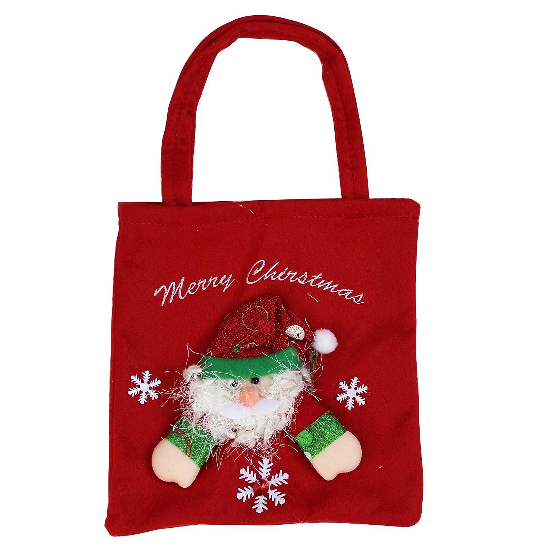 欢乐派对 圣诞节礼物袋子圣诞节礼品袋子 糖果袋 圣诞