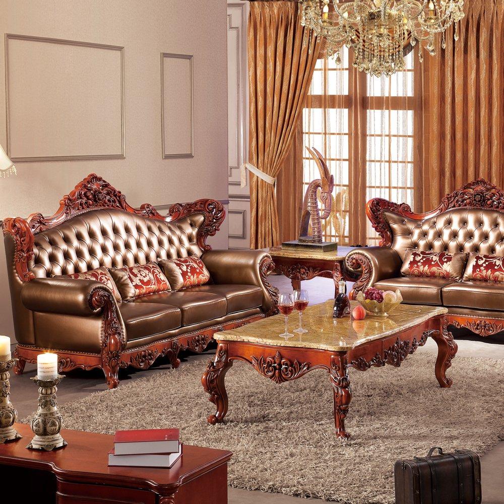 jiawen 嘉文 实木家具 橡木客厅家具 法式欧美风 8003