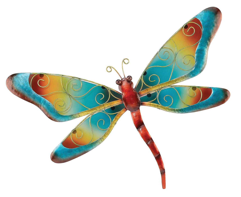Regal Art & Gift Dragonfly Wall Decor, Blue-家居-亚马逊中国-海外购 美亚直邮