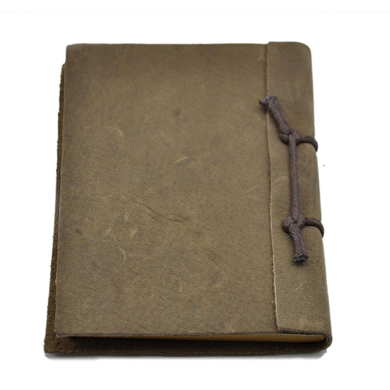一品望家 真皮笔记本(小) 复古笔记本 记事本 日记本 手工笔记本 做旧