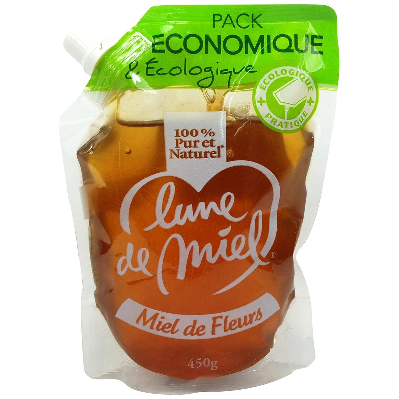 法国原装进口,LUNE DE MIEL蜜月原味蜂蜜便利装450g,39.9元包邮