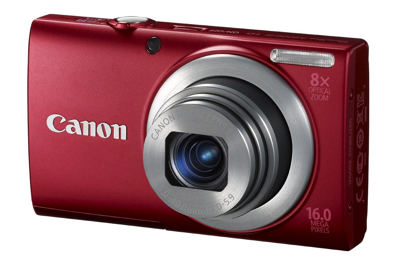 canon 佳能 powershot a4000is 数码照相机(红色)