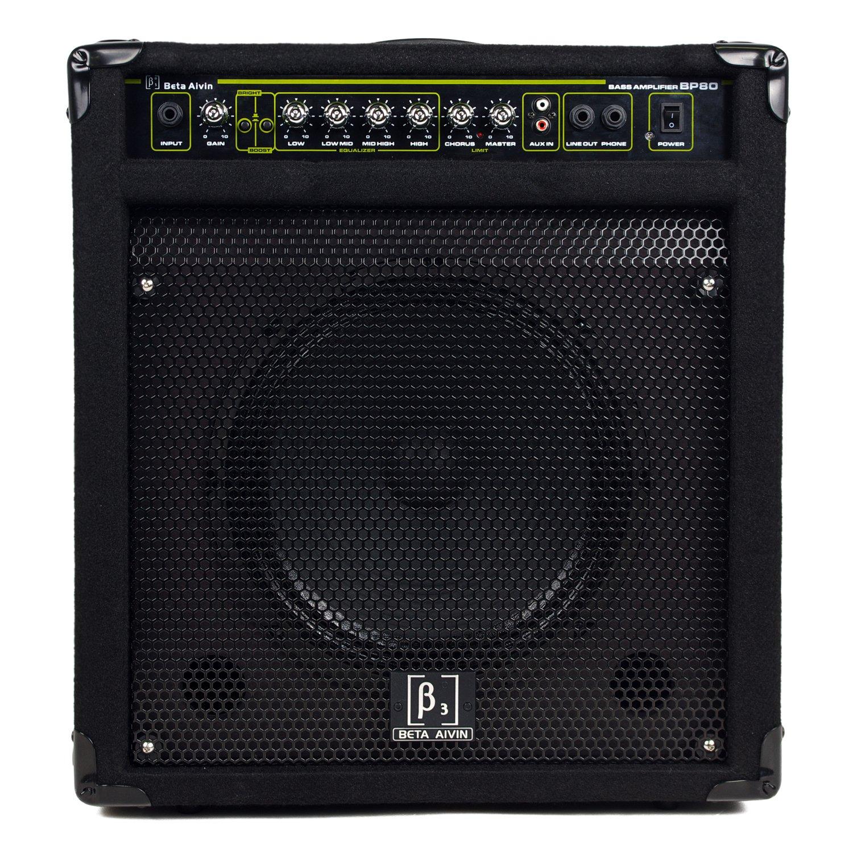 贝塔斯瑞bp80 电贝司音箱 80w电贝司/电鼓音箱