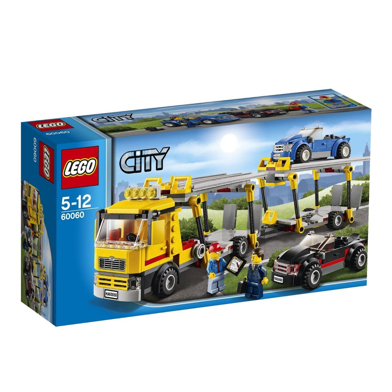 lego 乐高 益智拼插拼装积木玩具 城市系列汽车运输车