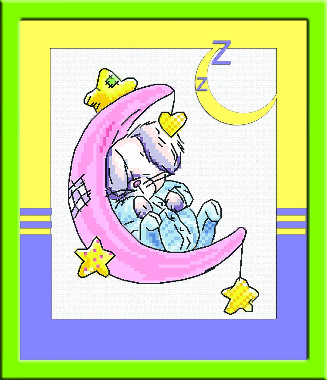 多美绣 十字绣 卡通 可爱-bunny兔-睡觉的兔 搭配组合