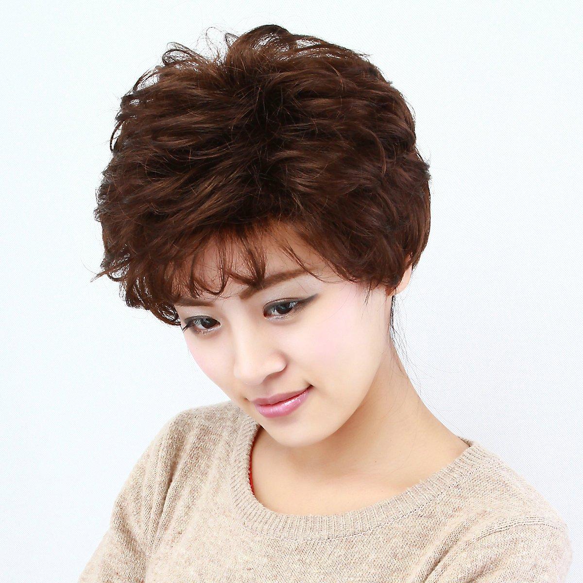 妈妈发型_蓬松中老年妈妈最爱发型