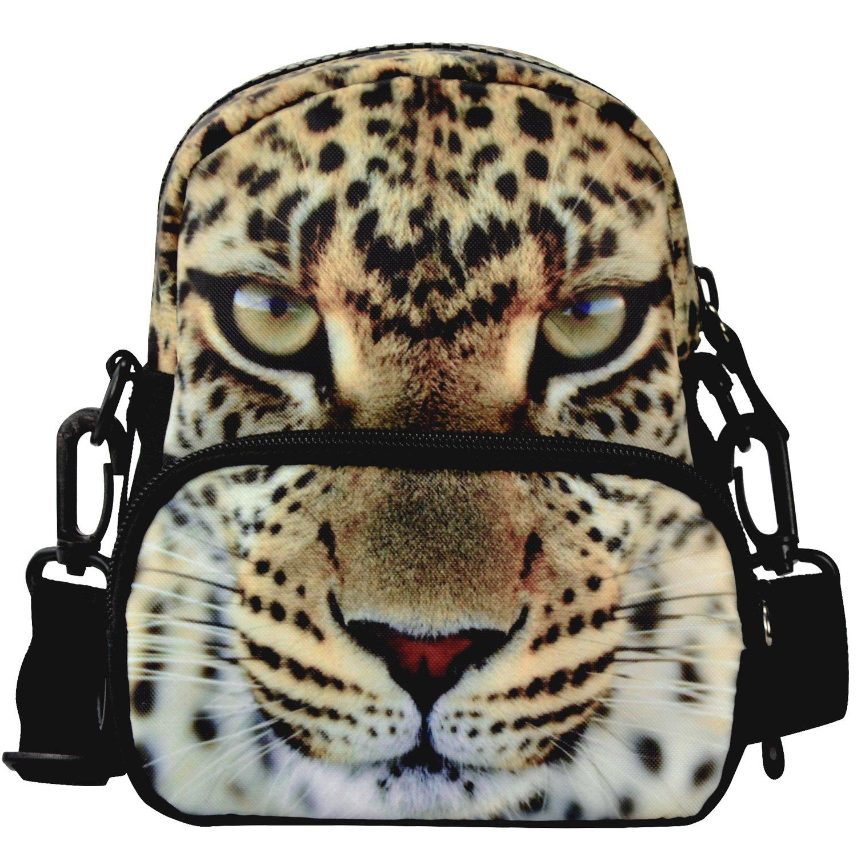 个性单肩包休闲多功能包 时尚3d逼真动物图案背包 幼稚园男女宝宝小