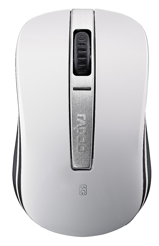 rapoo 雷柏 m330 5g无线光学鼠标 白色