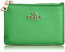 coach gray wallet  skinny wallet