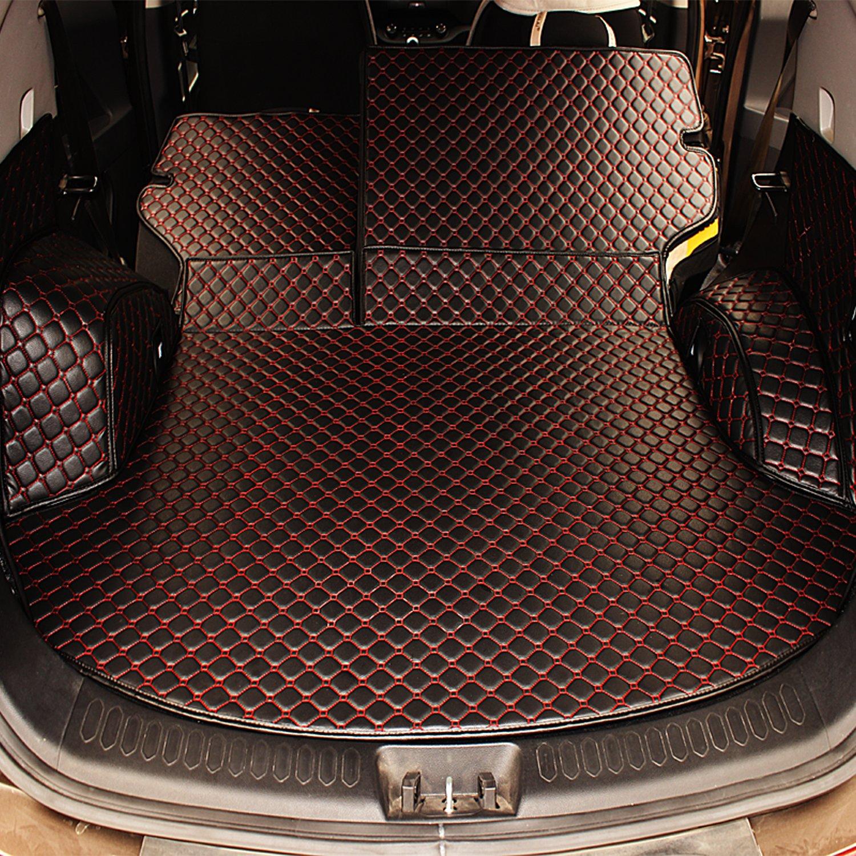 丰田普拉多五座专用后备箱垫 靠背垫 侧围垫 后仓全包围垫 覆盖面广