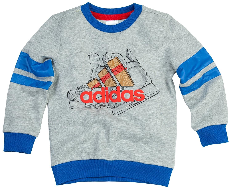 adidas kids 阿迪达斯 绅士俱乐部系列 lb c crew sweat 男童 夹克