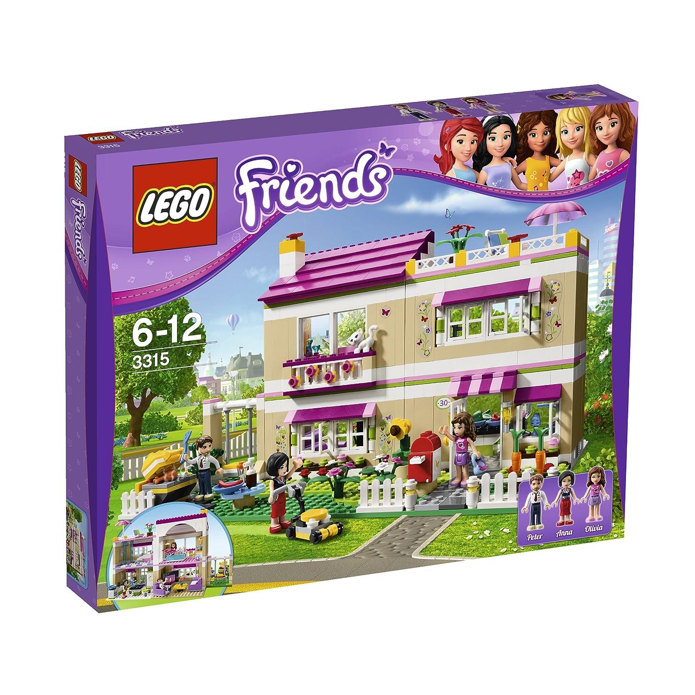 LEGO 乐高 女孩系列 奥丽薇亚的房子¥499