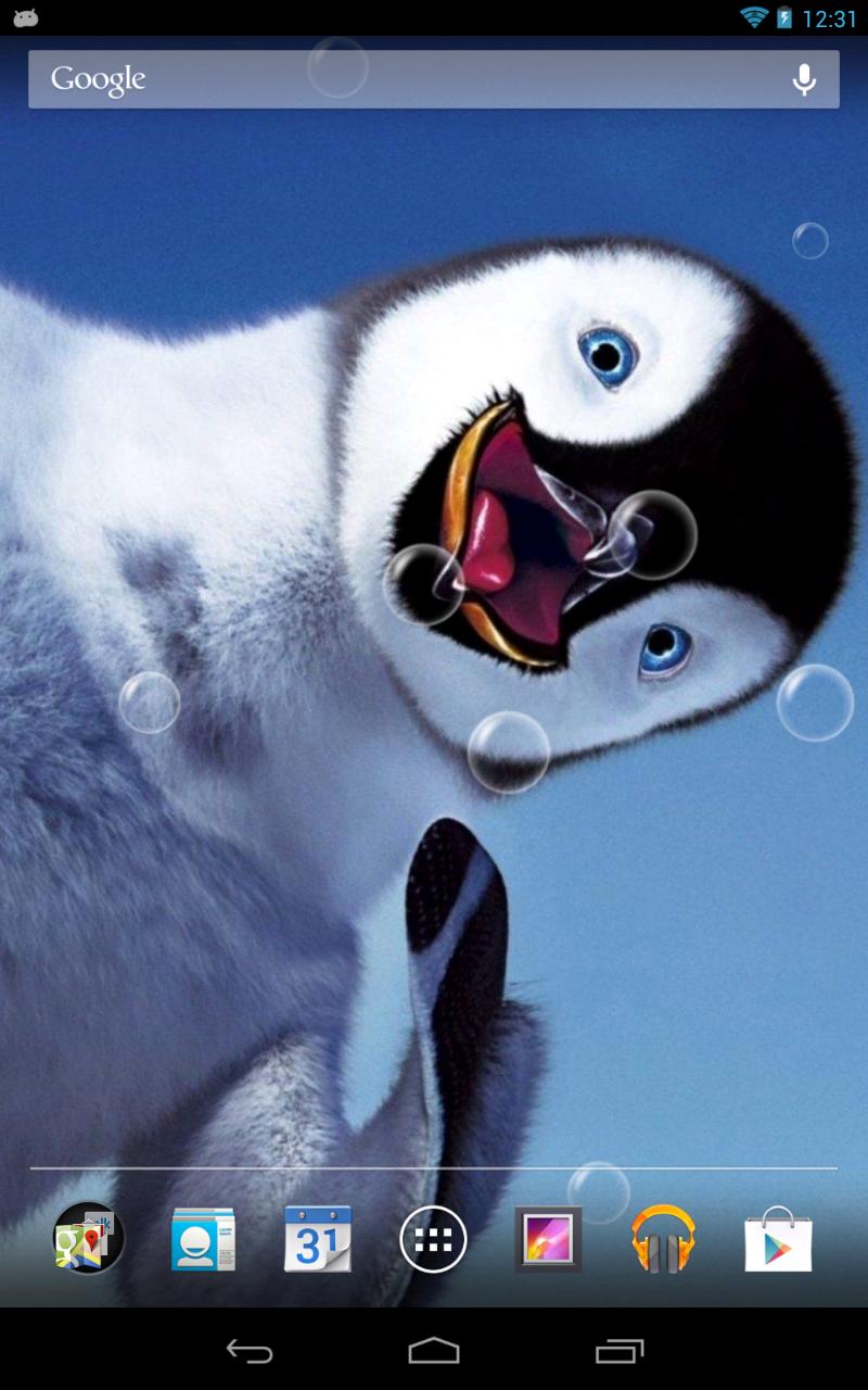 萌萌企鹅动态壁纸