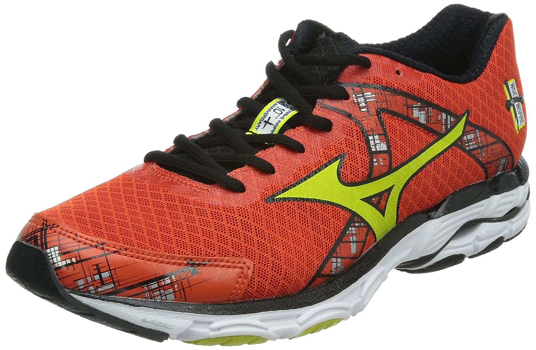 Mizuno 美津浓 男 跑步鞋WAVE INSPIRE 10  J1GC144404