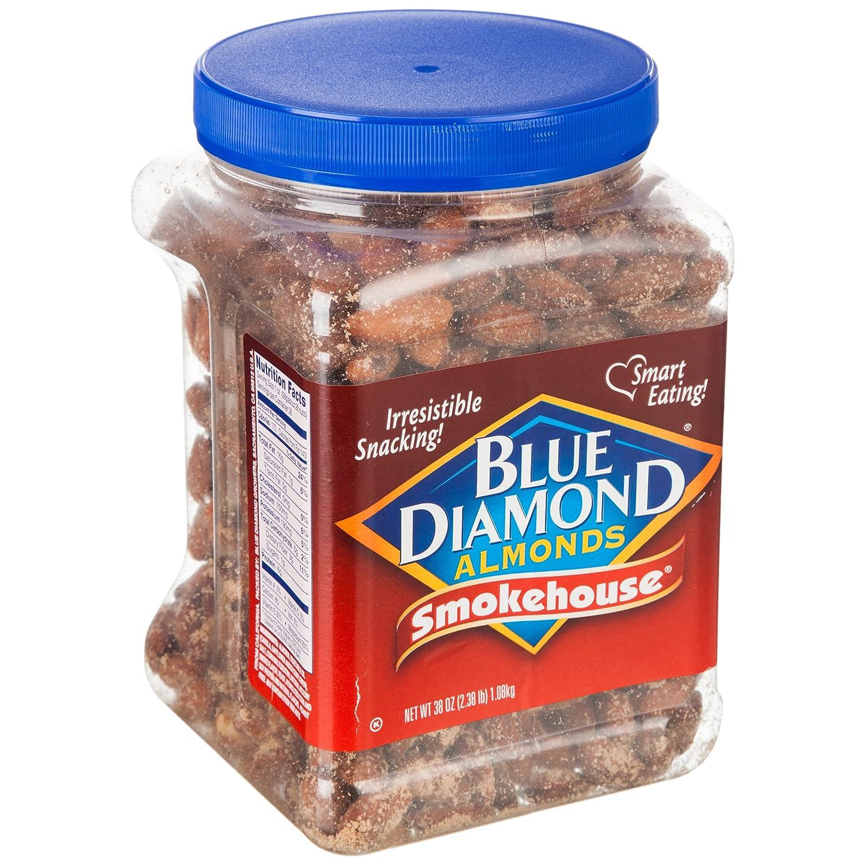 Blue Diamond蓝钻石熏制风味扁桃仁1080g ¥139,下单-¥80