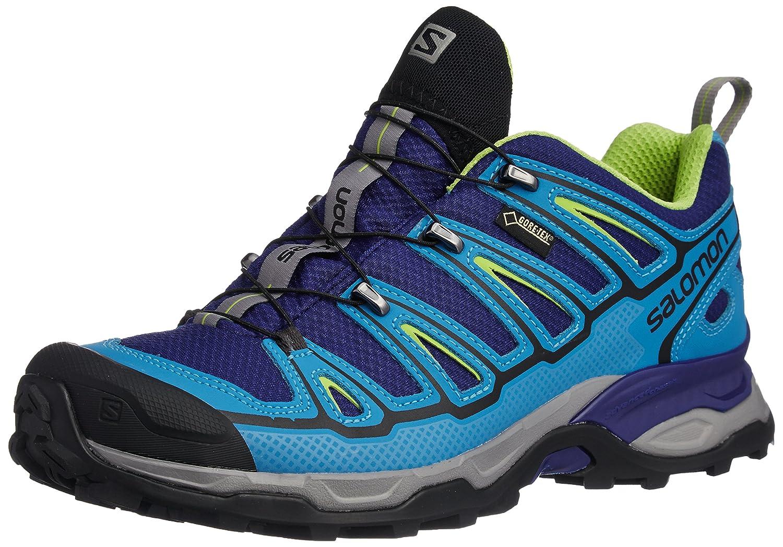 Salomon 萨洛蒙 男 徒步鞋 SHOES X ULTRA 2 GTX® G BLUE/BL/GR 373313