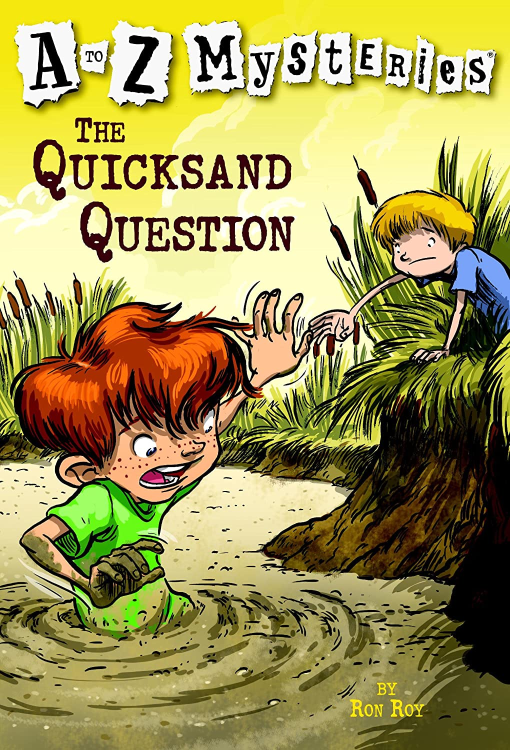 a to z mysteries: the quicksand question [kindle电子书]