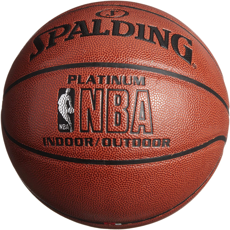 SPALDING 斯伯丁 NBA铂金经典 NBA 64-282篮球¥355,叠加500-150