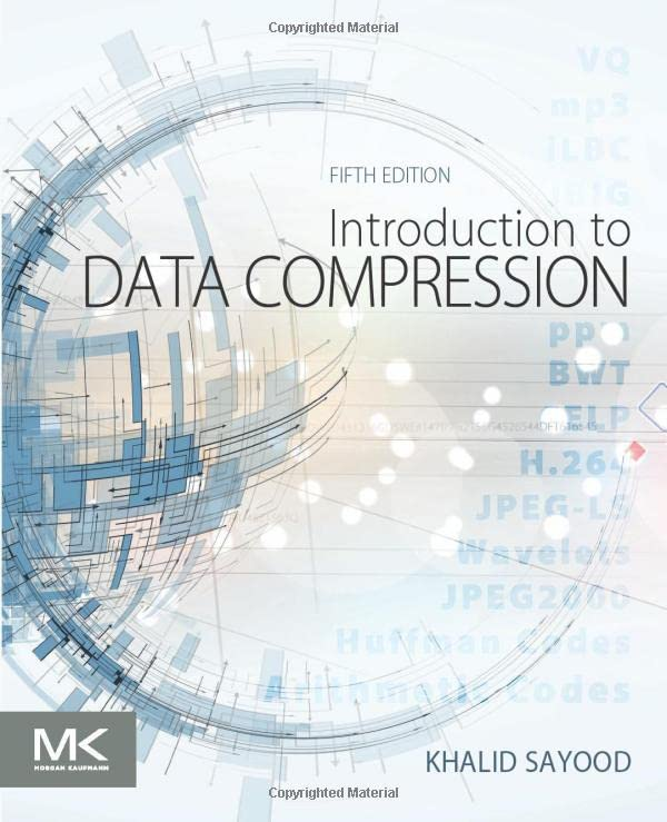 Introduction to Data Compression, 5th Edition
