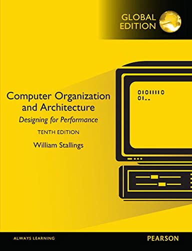 Computer Organization and Architecture, 10th Global Edition