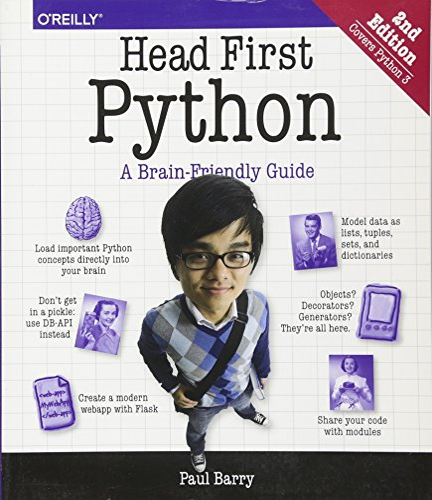 Head First Python: A Brain-Friendly Guide, 2nd Edition