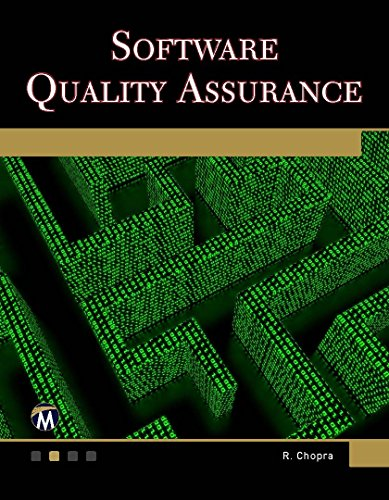 Software Quality Assurance A Self-Teaching Introduction