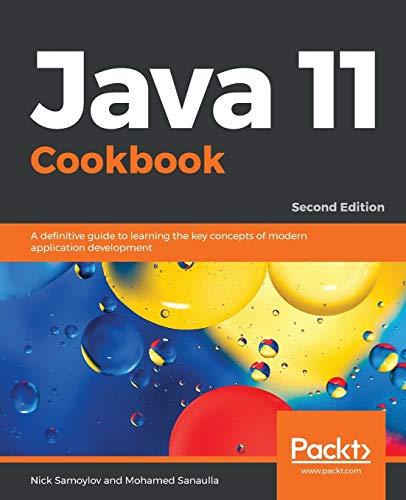 Java 11 Cookbook, 2nd Edition